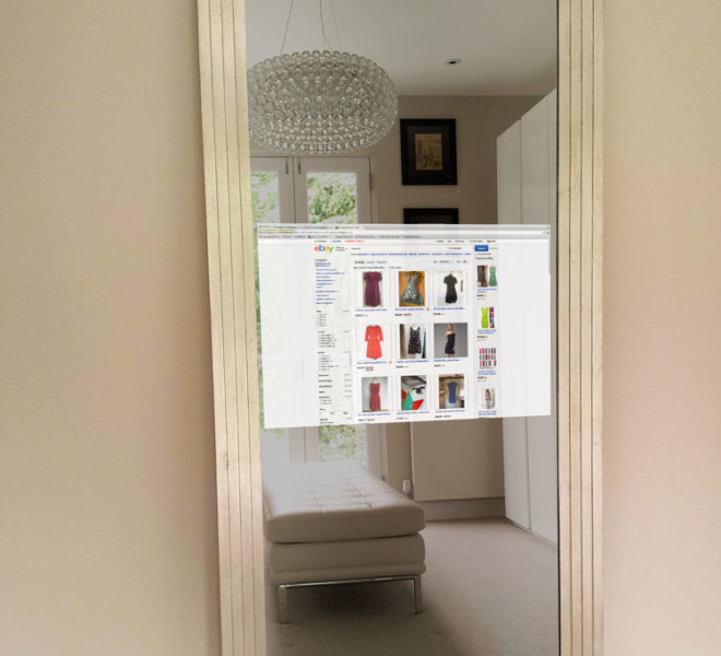 AD2 Floor Standing mirror TV ebay-ON