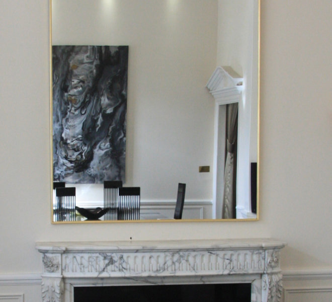 Bespoke Large AD0 Art Deco Mirror