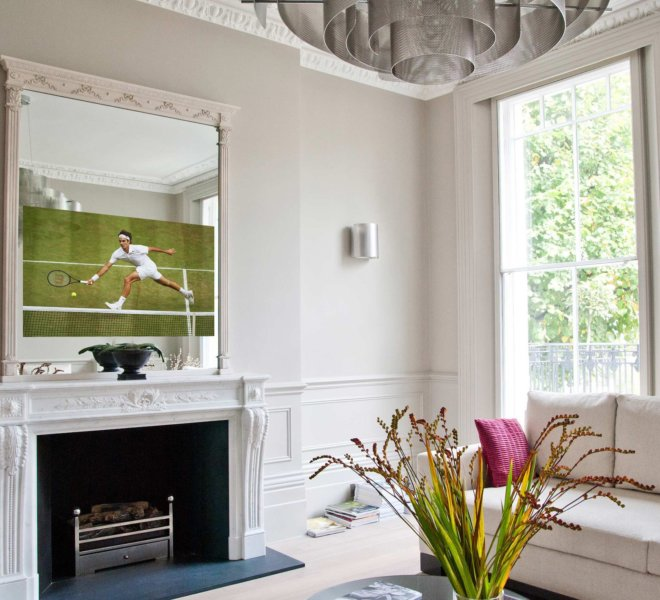 No21 wimbledon french wash TV Mirror