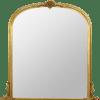 Ornamental Archtop Mirror