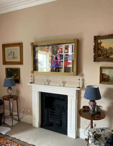 No62 Regency Bullseye TV Mirror Wrap to Screen ON