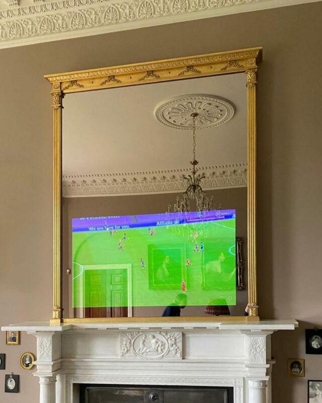 Overmantels_Ultra High Reflective TV Mirror Glass